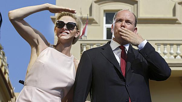 Albert herceget ünnepli Monaco