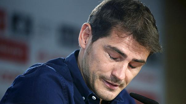 Casillas gözyaşlarıyla Real Madrid'e veda etti