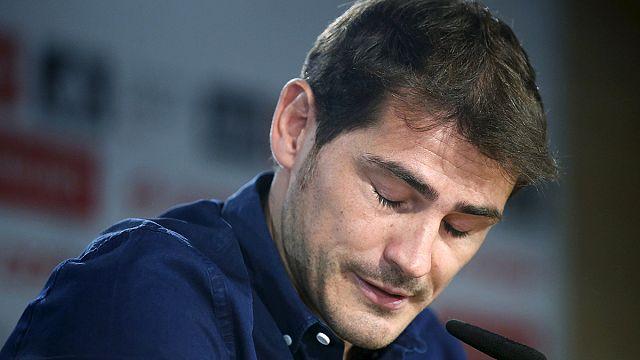 Casillas könnyes búcsúja