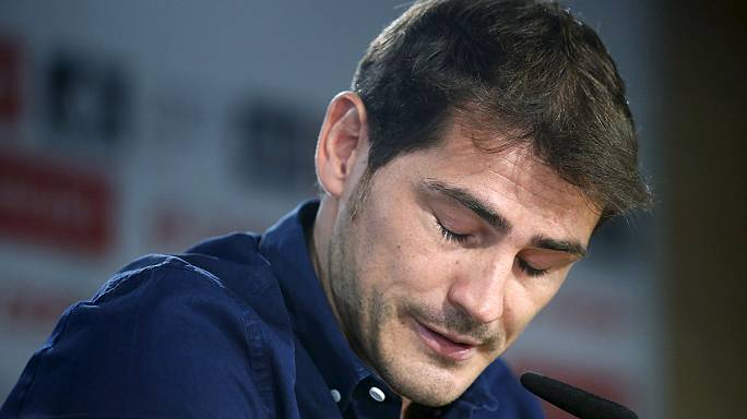 Captain Casillas bids tearful farewell to Real amid controversy over exit