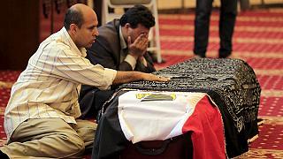 تشييع جنازة الممثل المصري عمر الشريف