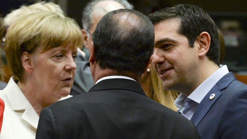 La decisión sobre Grecia, en manos de los líderes de la zona euro