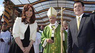 پاپ در پاراگوئه از همراهی کلیسا با 'اسپانیای استعماری' عذرخواهی کرد