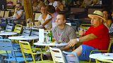 Sogar Verständnis für die Gläubiger in den Straßen von Athen