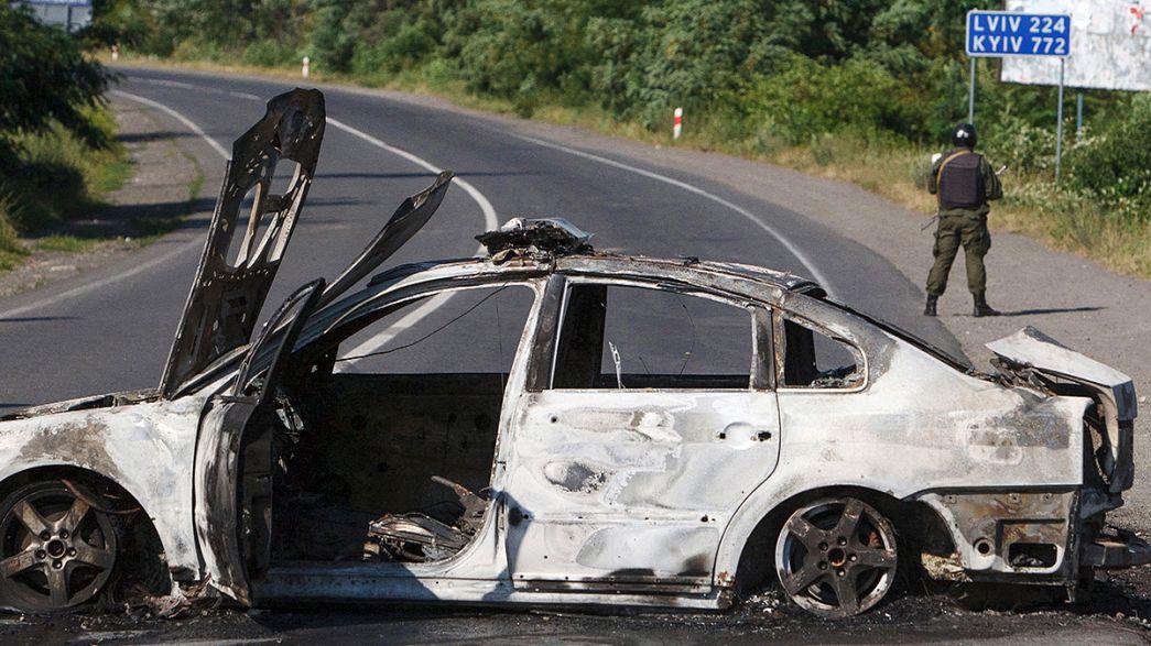 Gewalt im Westen der Ukraine: Rechtsextreme gegen Schmuggler?