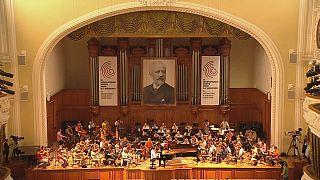 Gli dei della musica al Concorso Internazionale Ciaikovskij di Mosca.