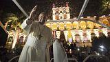 El papa Francisco termina su gira sudamericana en Paraguay