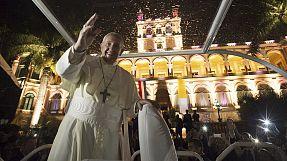 Papa Francesco termina in Paraguay il suo viaggio in America latina