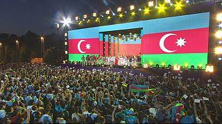 Thousands celebrate end of European Games in Baku