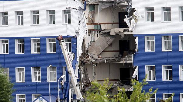 Rússia: Desmoronamento de caserna