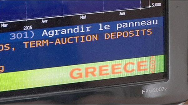 Küresel piyasalarda Yunanistan dopingi