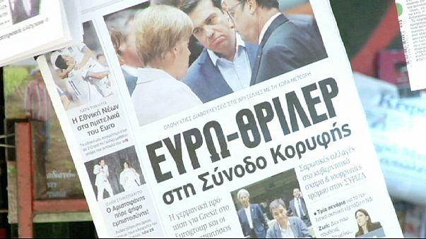 Skepsis statt Euphorie: Griechen reagieren auf Gläubiger-Abkommen