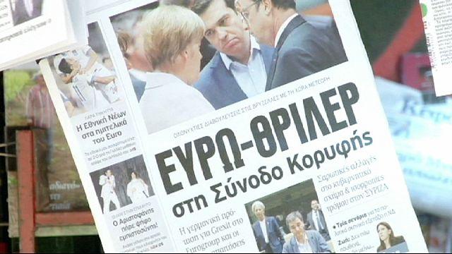 Греки готовятся к худшему и винят во всем Германию