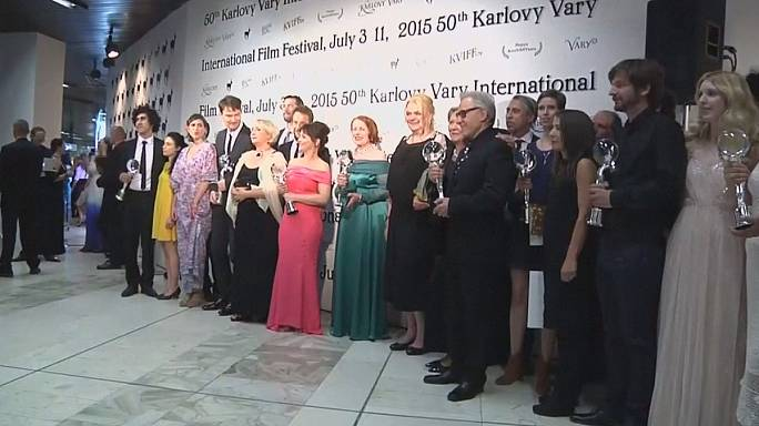 Karlovy Vary hands out the Crystal Globes to an eclectic selection