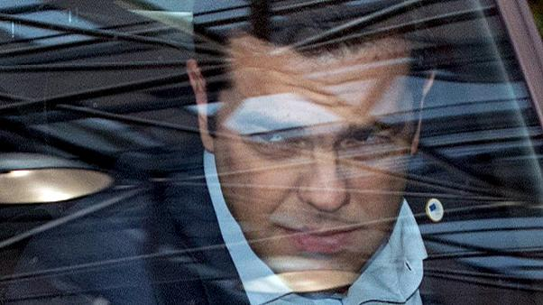 Greek Prime Minister Alexis Tsipras faces problems in his Syriza party