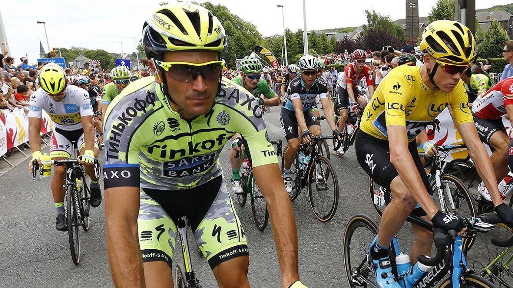 Ivan Basso abandona el Tour tras detectarle un cáncer de testículo