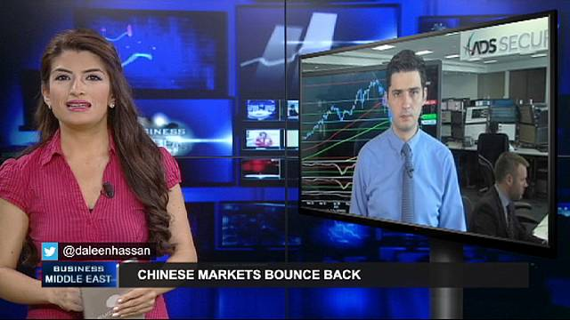 China's markets bounce back after dip