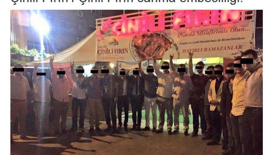 Ülkücüler Uygur Türkleri için 'Çinili Fırın' protestosu yaptı mı?