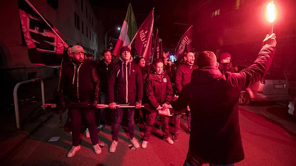 Image: 'Forza Nuova' demonstration in Rome