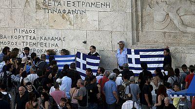 """Griechenland: Syriza-Koalitionspartner bezeichnet Einigung als """"Staatsstreich"""""""