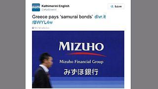 """La Grèce paient ses dettes """"samouraï"""" mais fait défaut au FMI"""