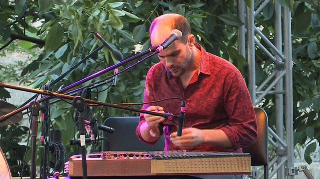 Euronews meets Iraqi-American artist Amir ElSaffar at Istanbul Jazz Festival