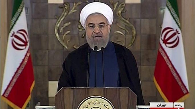 Hassan Rohani congratula-se com o acordo nuclear