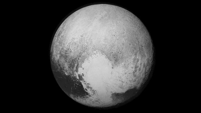Spacecraft flies by Pluto after a nine-year journey in space
