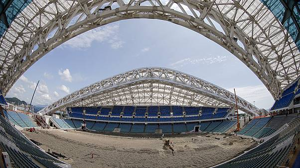 Russia shows off preparations for World Cup 2018