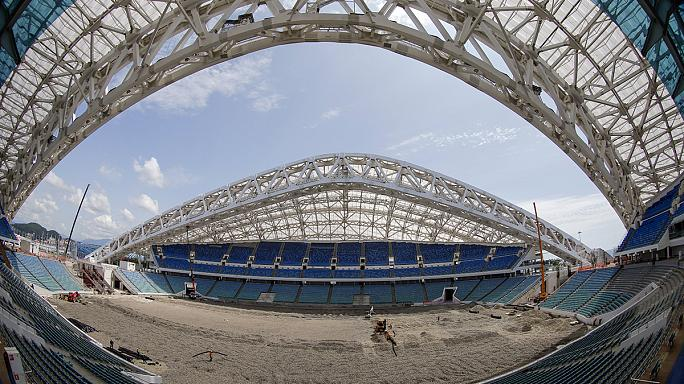 Munkálatok az olimpiai stadionban