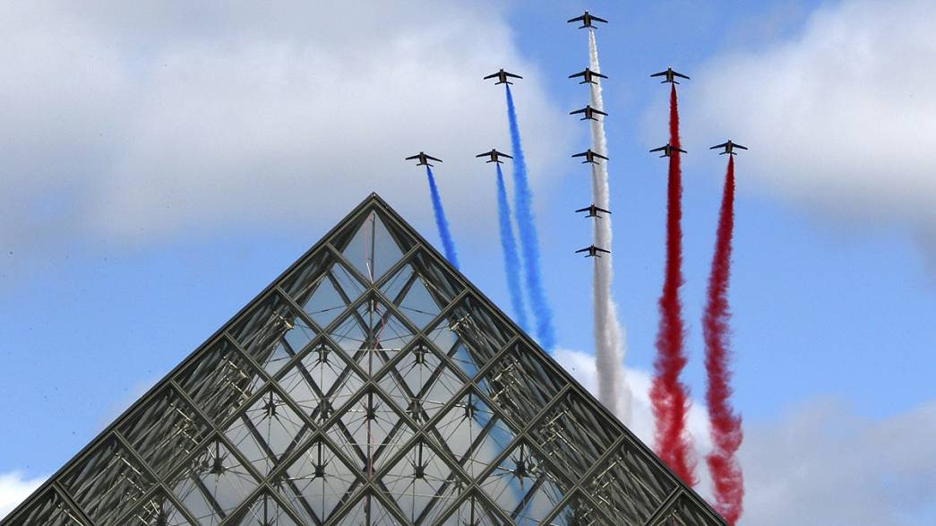 France pays tribute to its elite armed assault units on Bastille Day in Paris