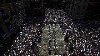 San Fermin bulls break speed record in Pamplona