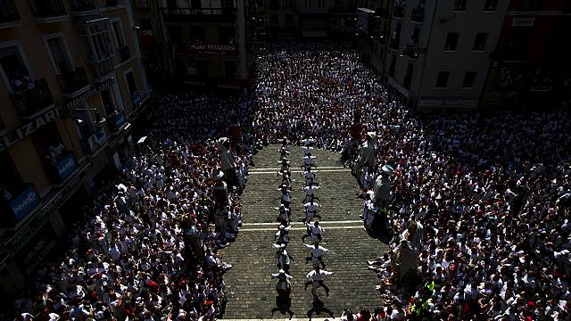 San Fermin bulls break speed record in Pamplona
