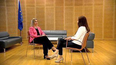 """Mogherini: """"Acordo com Irão é oportunidade histórica para começar a construir confiança"""""""