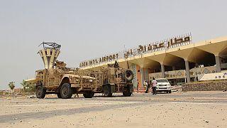 نظامیان دولتی یمن کنترل فرودگاه بین المللی عدن را در اختیار گرفتند