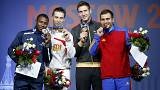 Rusia empieza con buen pie en 'sus' Mundiales de esgrima