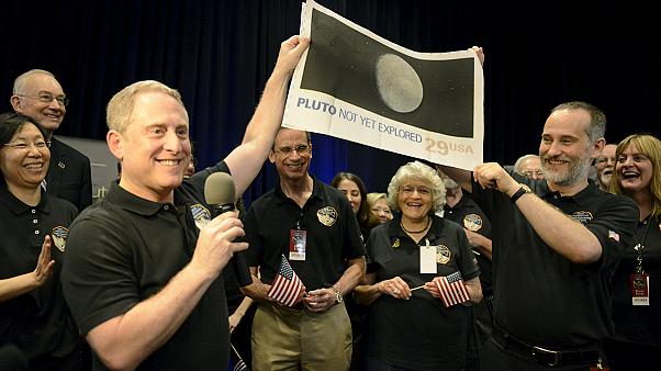 """NASA probe """"phones home"""" after surviving flyby with Pluto"""