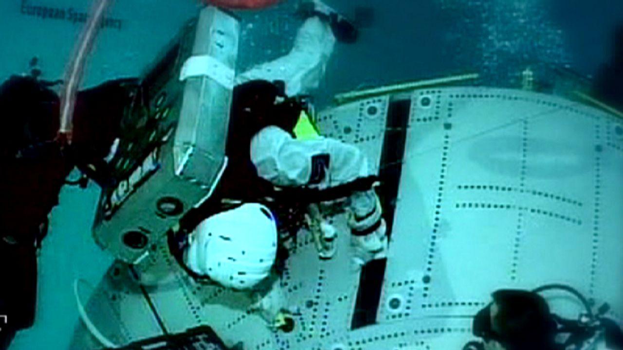 L'Académie des Astronautes : comme dans le film Gravity!