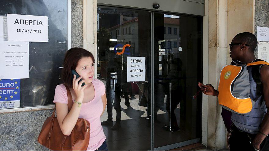 Primera huelga de la era Syriza