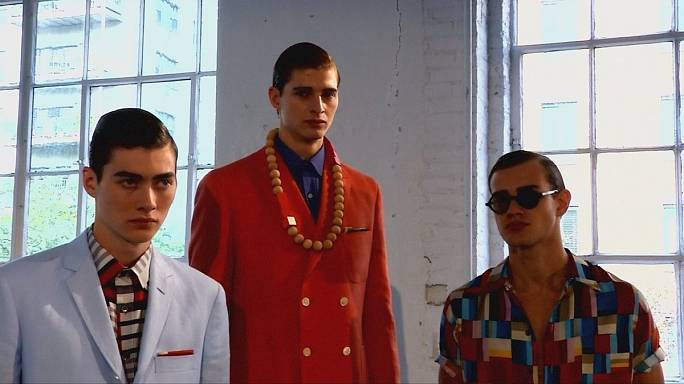 Post-war nostalgia and light play at New York Fashion Week: Men's