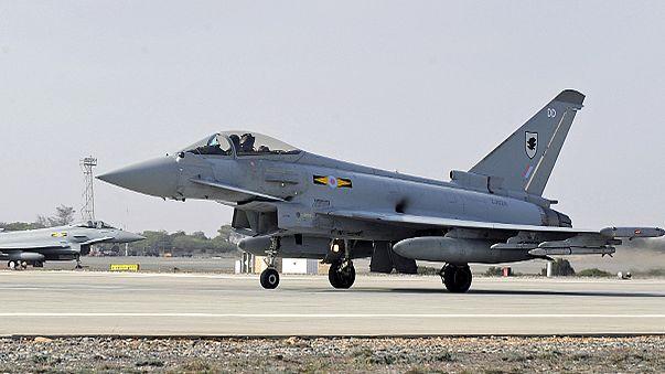 British warplane accidentally drops missiles onto its base