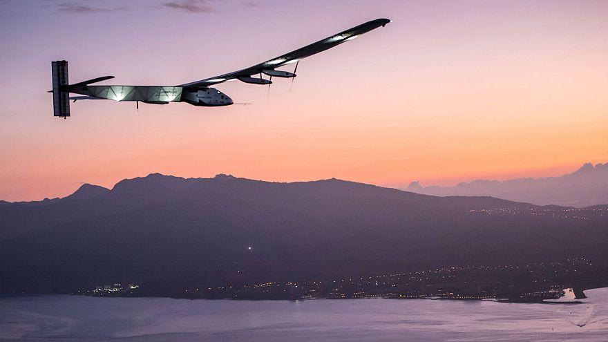 El avión Solar Impulse II se queda sin impulso en Hawai