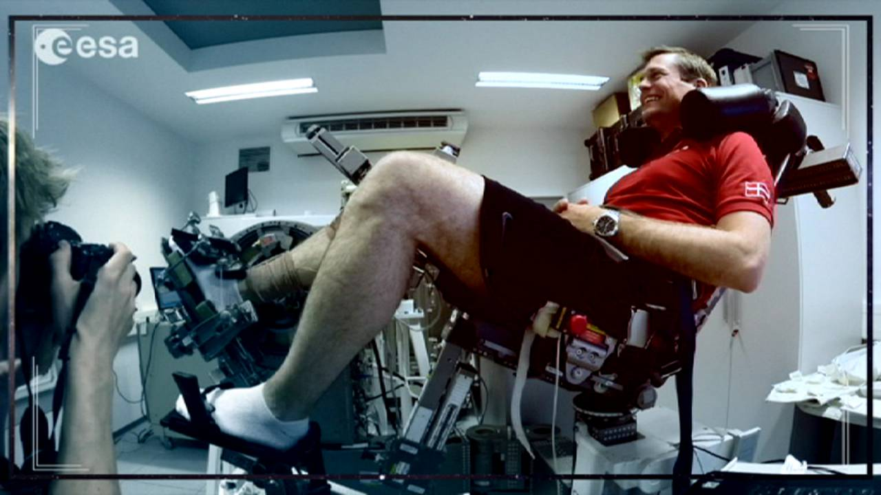 Academia de Astronautas: las consecuencias para la salud de estar en el espacio