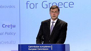 Bruxelas propõe crédito urgente de sete mil milhões de euros para a Grécia