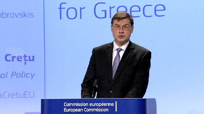 Greece should tap EU-wide rescue fund for emergency loan, says top EU official
