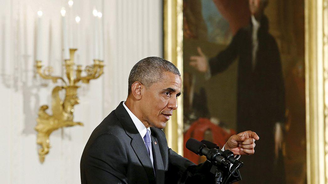 """Obama pide al Congreso que se base """"en hechos"""" al debatir el acuerdo con Irán"""