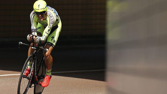 Optimista a rákkal műtött kerékpáros