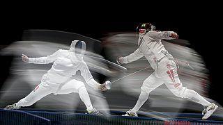 Géza Imre y Rossella Fiamingo, campeones del mundo de espada