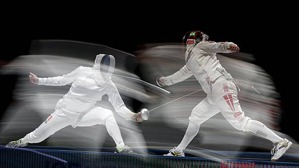 Imre and Fiamingo strike Epee gold at world champs