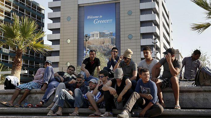 Crise des migrants : la situation comparée à une bombe sur le point d'exploser sur l'île grecque de Lesbos